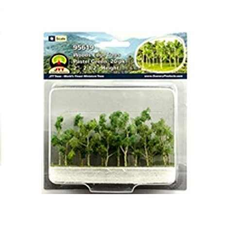 Review Woods Edge Trees Pastel