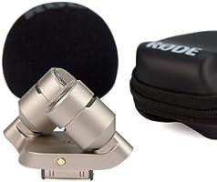 RODE iXY Registrazione a 24bit//96Khz Microfono per iPhone o iPad