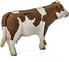 13801 Figura vaca de raza Fleckvieh Schleich