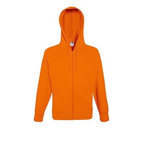Jacket Hooded Sweat Orange Loom Mens Of The Lightweight Fruit Zip xPO8Uvxw