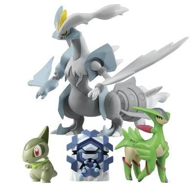 Pokemon 4 Figure Pack WHITE KYUREM T18331