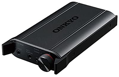 ONKYO portable headphone amplifier DAC equipped with Black DAC-HA200(B) [Japan Impot]