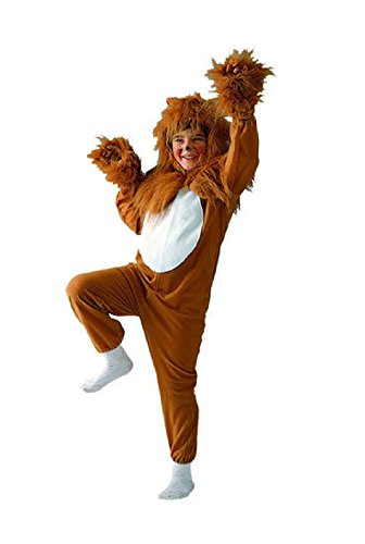 OvedcRay Lion Child Costume King Of Jungel Lioness Animal Kids Jumpsuit Costumes