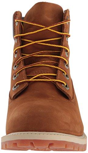 Timberland 6 Nel Classico Boot Ftc_6 Nel Boot Premium Wp 14749, Unisex-kinder Stiefel Braun (ruggine Nabuk Con Miele)