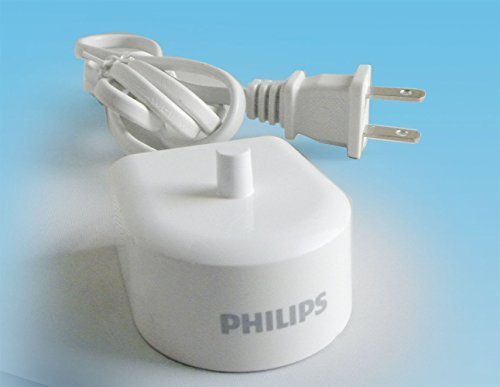 New Philips HX6100 Charger for Sonicare HeathyWhite Flexcare HX6500/HX6511/HX6530/HX6711/HX6730/HX6731/HX6732/HX6780/HX6781/HX6782/HX6902/HX6910/HX6930/HX6932/HX6942/HX6952/HX6972 (Philips Sonicare Charger)