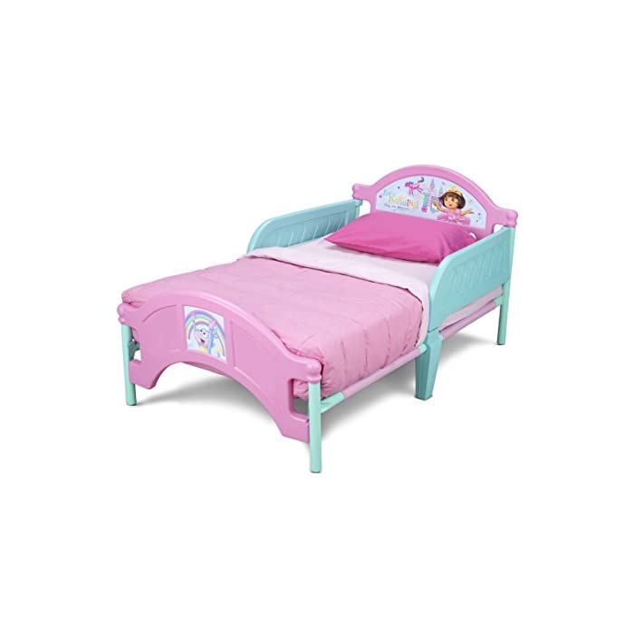 Delta Children Plastic Toddler Bed Nick Jr Dora The Explorer