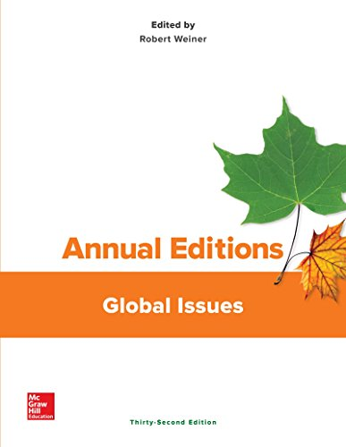 Price comparison product image Annual Editions: Global Issues,  32 / e