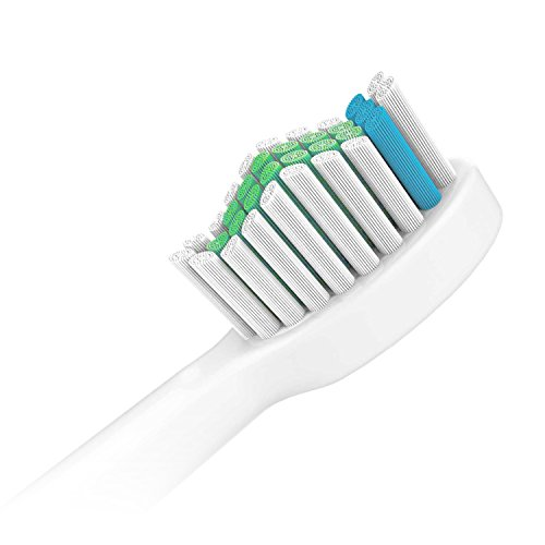6x Sonic Replacement Toothbrush Brush Heads for Philips Sonicare E-Series fits Elite, Essence, Advance, CleanCare, Xtreme, eSeries, HX7022, HX7023, HX7026 by Great Value Tech by Great Value Tech compatible with Philips Sonicare (Image #2)