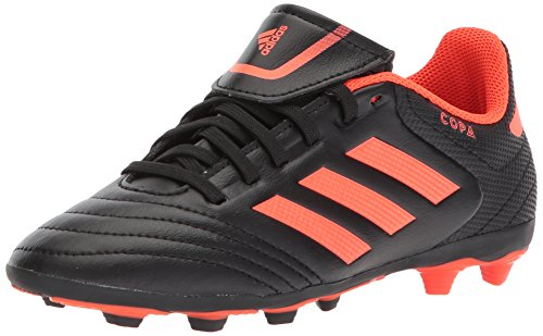 adidas Performance Boys' Copa 17.4 FxG J, Black/Solar Red/Solar Red, 4 Medium US Little Kid