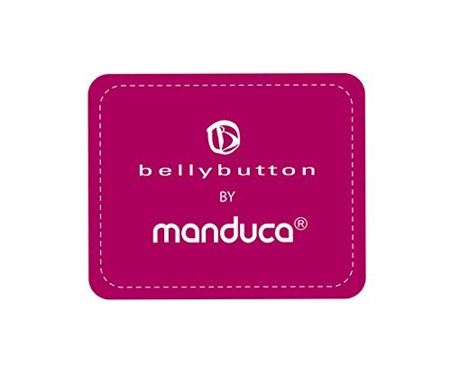 Bellybutton by manduca Carrier > Wild Crosses Blue < Colección 2018 I para bebés y niños correa con cinturón y respaldo de garantía I 100% algodón orgánico ...