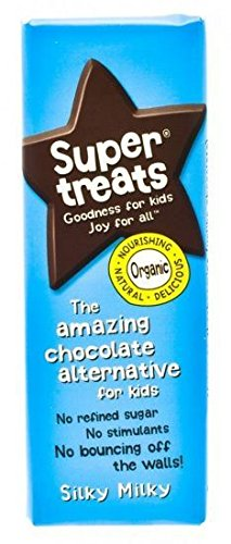 Supertreats Silky Milky Organic Carob Bar 12 Pack by Supertreats