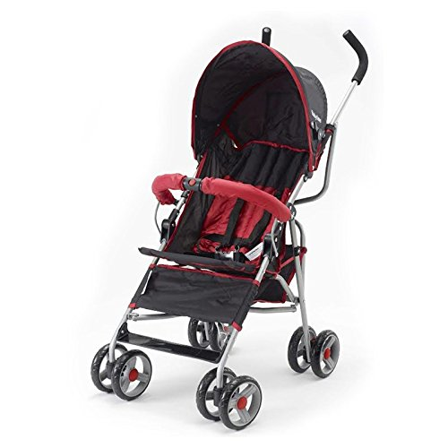 Big Oshi Lexington Stroller, Black & Red by Big Oshi
