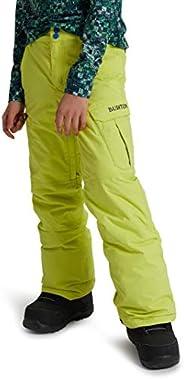 Burton Boys Exile Cargo Pant, Limeade, Large