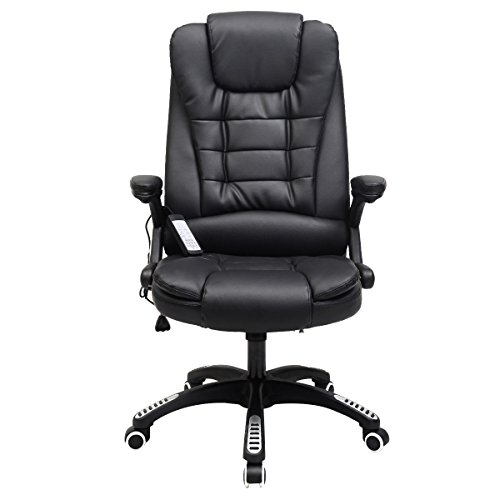 Executive Ergonomic Computer Desk Massage Chair Vibrating Home Office New