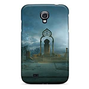 First-class Case Cover For Galaxy S4 Dual Protection Cover Throne Of The Damned