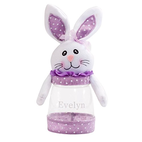 (Personalized Easter Bunny Treat Jar, 9 ¼
