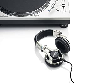 Shure SRH750DJ Professional Quality DJ Headphones (Gold) from Shure Inc.