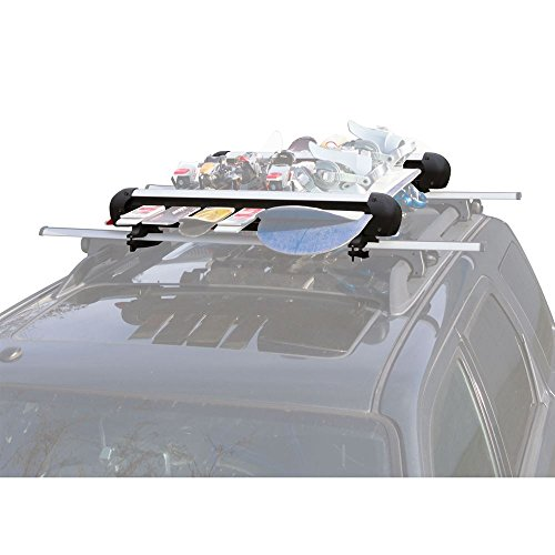 Rage Powersports SKI-6 Ski and Snowboard Roof Carrier