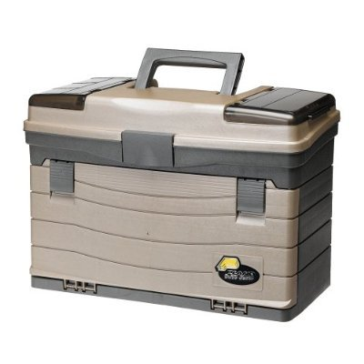Plano 4-drawer Tackle Box with Top Access, Fishing Storage Outdoor -