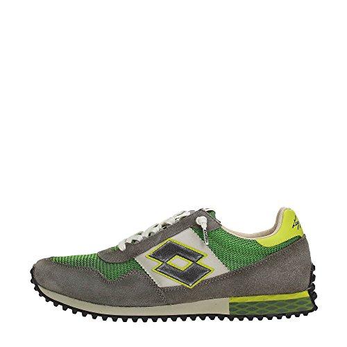 Grigio Leggenda Sneakers Suede Uomo Targa Grigio Tokyo Mesh Verde Lotto dpq4vxo0w0