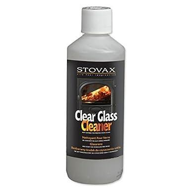 Stovax - Gel limpiador para cristal de estufa (500 ml)