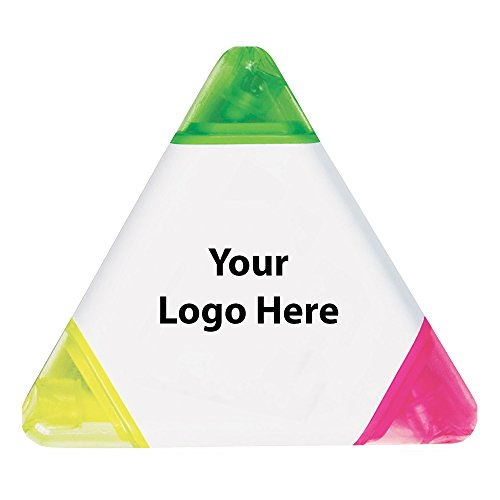 (Tri Highlighter - 400 Quantity - $1.15 Each - PROMOTIONAL PRODUCT/BULK/BRANDED with YOUR LOGO/CUSTOMIZED)