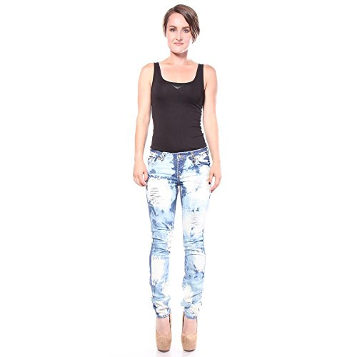 Punk Marc Blue Jeans Saint Donne t0qgtx