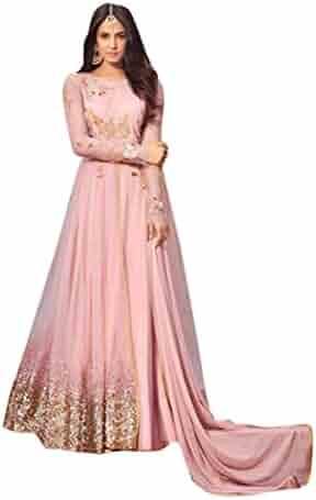 344f1f501c ETHNIC EMPORIUM Bollywood Net Latest Embroidered Muslim Eid Anarkali  Designer Salwar Kameez Maisha 915