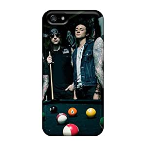 Bumper Hard Phone Cover For Iphone 5/5s (JCt2438ZgNy) Provide Private Custom Realistic Avenged Sevenfold Band A7X Image