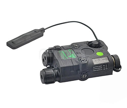 FMA Black PEQ15 Upgrade Version LED White light+Green laser with IR Lenses