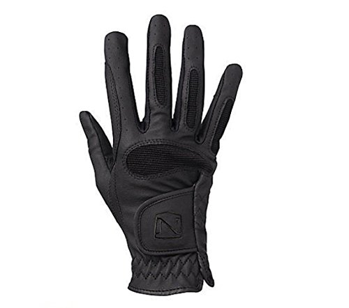 Noble Outfitters Ready to Ride Glove Horseback Light Weight Gloves Black Size 7
