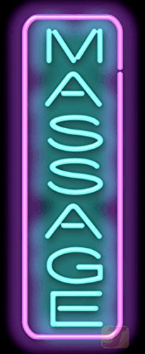 Massage Vertical Neon Sign