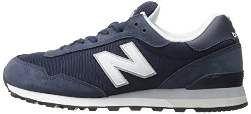 New Balance Men's 515 Core Pack Lifestyle Fashion Sneaker, Navy/White, 10 D US