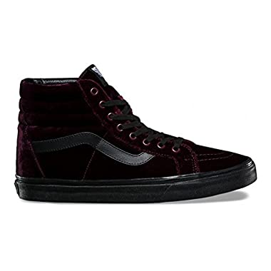 ee1fb5d0d0 Vans SK8 Hi Reissue Red Black 7.5 Mens 9 Womens