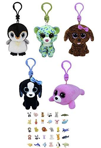 Stuffed Animals Beanie Penguin Leopard product image