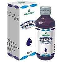 Nagarjuna Ayurvedic Kerala, RHEUMAT Ayurvedic Massage Oil, 30 ml (1 Oz)