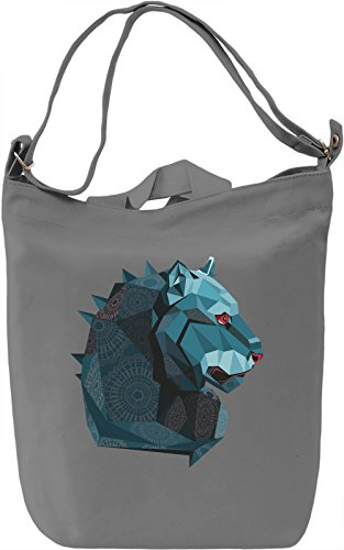 Blue lion Borsa Giornaliera Canvas Canvas Day Bag| 100% Premium Cotton Canvas| DTG Printing|