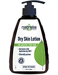 Natralia Dry Skin Lotion, 8.45 Ounce, Fragrance-Free Hand & Body Lotion For Dry Skin, Everyday Moisturizer, Free From Parabens, Petro-Chemicals, Non-Greasy, Leaves Skin Feeling Soft & Silky Smooth