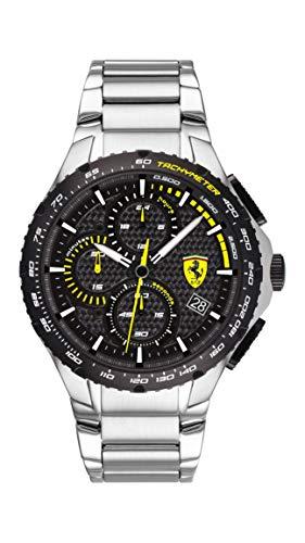 Scuderia Ferrari Pista Analog Black Dial Men's Watch-0830729