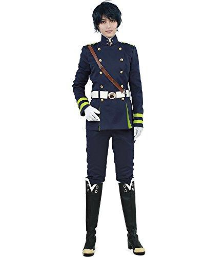 miccostumes Men's Yuichiro Hyakuya Cosplay Costume