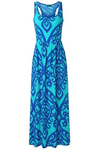 knit tank maxi dress - 3