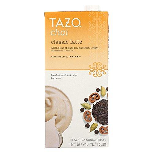 Tazo Concentrate Chai Latte Tea, 32 Ounce - 6 per case. (Tazo Chai Tea)