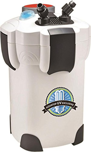 4 STAGE CANISTER FILTER WITH UV STERILIZER - 75 TO 125 GAL by DavesPestDefense