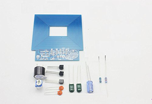 Amazon.com: New Simple Metal Detector Electronics Making Kit DIY Metal Detector Parts Board: Toys & Games