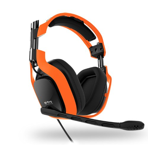 ASTRO Gaming Neon Color Series A40 Headset Kit (Orange)