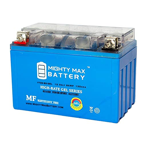 Mighty Max Battery YTX9-BS Gel 12V 8AH Motorcycle ATV Maintance Free Battery Brand Product