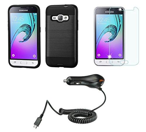 Samsung Galaxy Luna 4G LTE Accessory Bundle with - [Carbo...