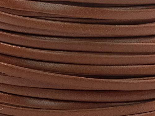 Calf Lace 3/32'' x 50 Yards (AR-297-C332x50ST) (Saddle Tan)