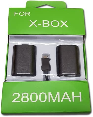 Kit Carga & Juega XboxOne XboxOne S 2 pilas del controlador de 2800 mAh para el cable de alimentación incluido 2,80 metros Batería batería recargable batería recargable: Amazon.es: Videojuegos