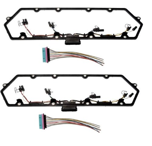 New Dorman 615-201 (Set of 2) 1997-2003 Powerstroke 7.3 Engine Valve Cover Gasket by Dorman